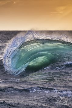 incoming wave also known as the ocean's ever changing sculpture, Port Kembla, Ausralia by William Patino~~