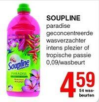 Soupline paradise geconcentreerde wasverzachter - Soupline