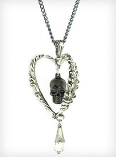 Death of the Heart Necklace   PLASTICLAND