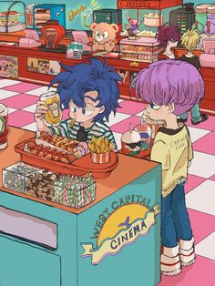 Anime Ai, Fanarts Anime, Otaku Anime, Manga Anime, Dragon Ball Gt, Goten E Trunks, Trunks And Mai, Anime Cosplay Costumes, Cute Dragons