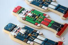Christmas Nutcracker Ornament Cookie {Video Tutorial} ~ Sweetopia
