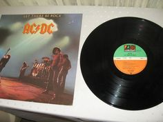 AC/DC - Let There Be Rock GER 1977 Lp vg++ to nm