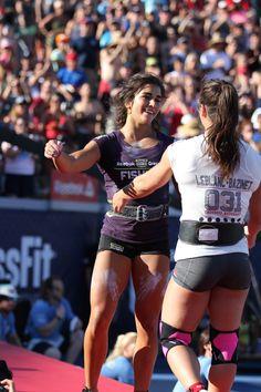 Lauren Fisher   Camille LeBlanc-Banizet   CrossFit Games 2014   Airrosti