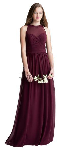 7a9e07b88b Bill Levkoff Bridesmaid Dress Style 1406. Knee Length Bridesmaid DressesWine  ...