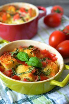 Ninas kleiner Food-Blog: Fremdgebloggt: Frittata a la Bruschetta