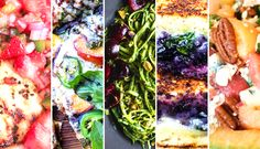5 awesome recipes to eat fresh, farmers' market fruit for dinner. Yum!   Be Well Philly