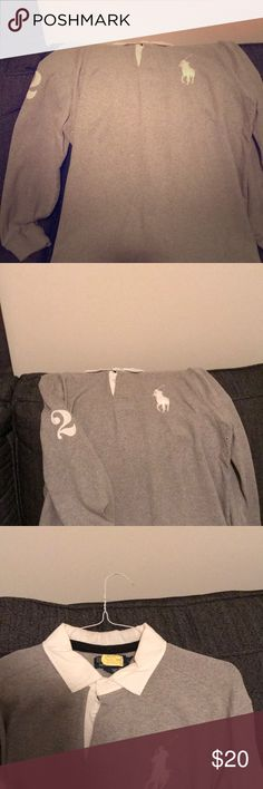 4d5bdaae3160 Men s Polo Long Sleeve Shirt Stylish long sleeve polo shirt! Lauren jennings