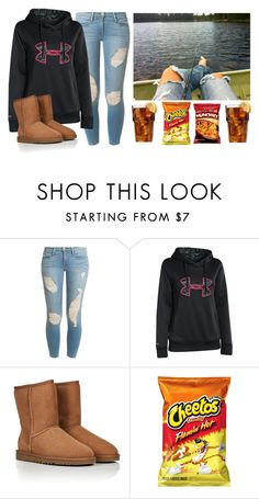 """""""Fishin"""" by forevercountry ❤ liked on Polyvore featuring Frame Denim, Under Armour and UGG Australia"""