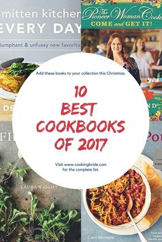 If you're searching for the perfect cookbook for yourself or for a gift, check out this list of the best cookbooks from this year to add to your collection.