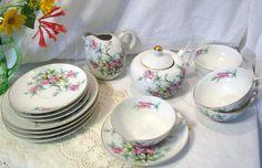 Yamaka China made in Occupied Japan Tea Set by AshleysSunroom on Etsy