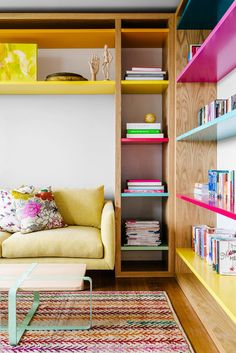 Contemporary Living Room by Kim Pearson Pty Ltd