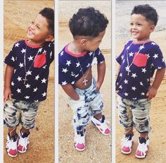 Pin : emmavonb ♕ Cute Toddler Boy Clothes, Toddler Swag, Toddler Boy Outfits, Toddler Boys, Baby Kids, Kids Outfits, Little Kid Fashion, Baby Boy Fashion, Kids Fashion