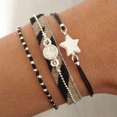Black bracelets | Mint15