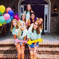 Kappa Kappa Gamma at Georgia Southern University #KappaKappaGamma #KKG #Kappa #BidDay #neon #snapback #balloons #sorority #GeorgiaSouthern