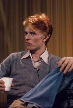 "David Bowie. Los Angeles, ""Good Morning America"", February 6 1976."