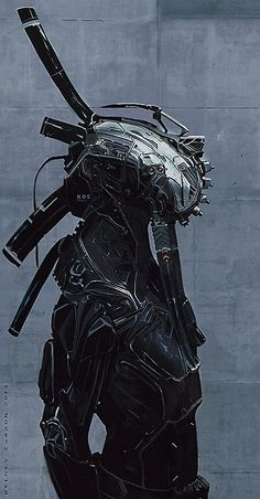 Cyberpunk via scifi-images Character Concept, Character Art, Concept Art, Alien Concept, Norman Rockwell, Science Fiction, Rude Mechanicals, Cyberpunk Kunst, Arte Ninja