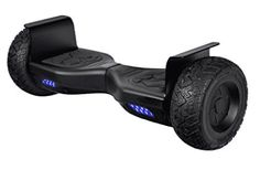 All Terrain Electric Scooter Smart Self-Balancing Wheel Bluetooth Off Road HoverBoard Certified Approved, Off-Road Hoverboards