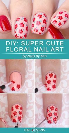 http://www.revelist.com/nails/easy-floral-nail-art/12277/ Here's more proof that it's not about being neat, but ALL about making those dots.