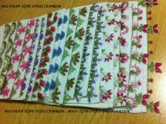 iğne oyası havlu kenarı örnekleri