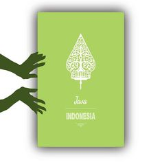#Wayang Gunungan Traditional Java #Indonesia #Silhouette Digital Poster Prints by KleponPrintables