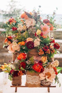 AH-MAZING Flower display!! #cedarwoodweddings Cedarwood Southern Vintage Wedding Infused with Mexican Flare | Cedarwood Weddings