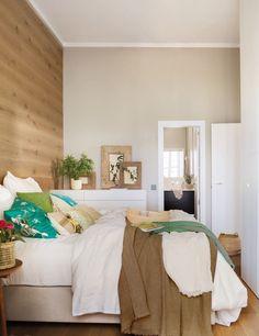 Home Decorating Ideas Bedroom Skandinavisches Design  Minimalistische Schlafzimmer Ideen Bett Kopfteil Aus Holz Https:/u2026 | Home  Decorating Ideas Bedroom ...