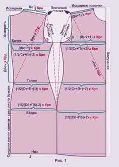 основа (выкройка) для стретча 1