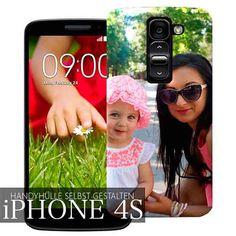 iPhone 4s Hülle selbst gestalten mit deinem einzigartigen Look! ✓Express Versand…