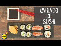 Variado de Sushi - Recetas Japonesas - YouTube