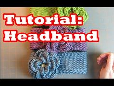 Tutorial: Headband for Addi Express , Crochet, Knit or Loom Knit - YouTube