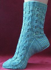 Ravelry: Quail Trails Socks pattern by Cynthia Levy