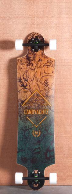Landyachtz 40 Switchblade Longboard Complete