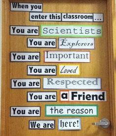 Healthy Classroom/Door
