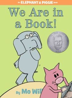 "In this Theodore Geisel Honor book, Gerald the elephant and his porcine companion Piggie arrive at the delightful realization that they are in a book. With that distinction comes power that makes them giggle: At whim, they can make the children reading them say funny words like ""banana""! By with that power comes the realization that, with only a dozen pages left, their book will end. Is there any way to keep the fun going?"