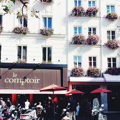 Le Comptoir, Paris  — 48 Hours in Paris on @SavvyHome .....One of my all time favorite restaurants