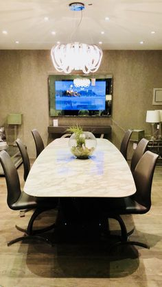 Mirror TV for office board room