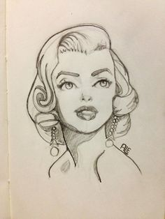 Marilyn Monroe by Alemchl