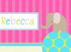 elephant notecards