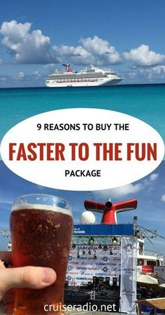 9 Reasons to Buy Faster to the Fun | Carnival Cruise Honeymoon Perks | Royal Caribbean Honeymoon Registry. Cruising can in truth be a really romantic method of spending time together. Apart from the moon over the sea, or the dawn there are completely great alternative reasons for picking a cruise. If you think of it, you can check out numerous different locations, and stay in the very same...