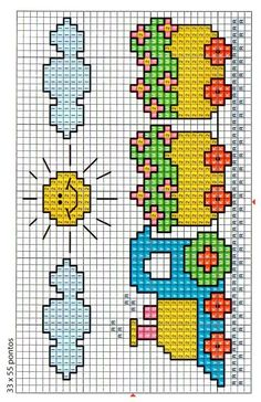 Most current Screen Cross Stitch for kids Thoughts Cross-stitch is an easy kind of needlework, perfect to the materials there for stitchers today. Baby Cross Stitch Patterns, Cross Stitch For Kids, Cross Stitch Borders, Cross Stitch Baby, Cross Stitch Charts, Baby Knitting Patterns, Cross Stitch Designs, Cross Stitching, Cross Stitch Embroidery