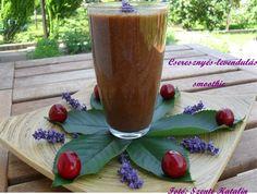 Cherry-lavender smoothie