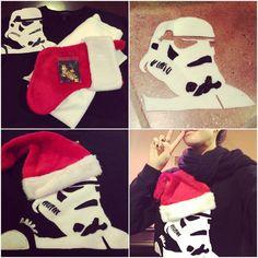 DIY Stormtrooper Christmas sweater