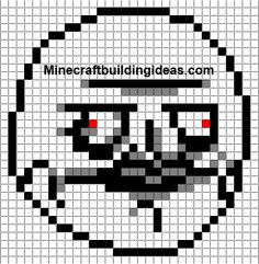 Crochet graph idea for a pillow in my sons room.