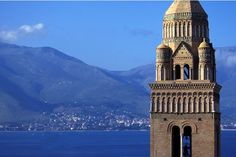 Gaeta - bell tower of the cathedral.