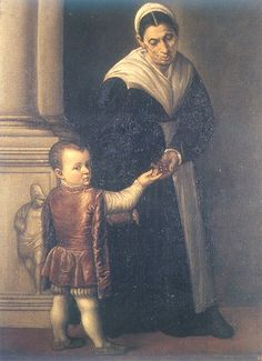 Sofonisba Anguissola (attr.) - Boy with nanny by petrus.agricola, via Flickr