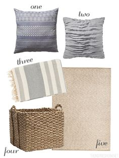 Bedroom Layers and Texture - Small Space Bedroom Ideas - The Inspired Room