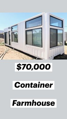 Tiny Container House, Cargo Container Homes, Shipping Container Home Designs, Building A Container Home, Container Buildings, Storage Container Houses, Prefab Shipping Container Homes, Shipping Containers, Tiny House Cabin