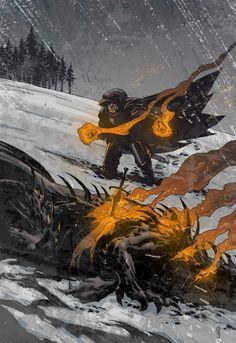 Dragonslayer, Rob Cross on ArtStation at https://www.artstation.com/artwork/dragonslayer-ad4d5890-7490-4010-a00d-aca6e18ca71e