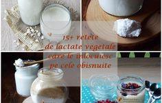15+ retete de lactate vegetale, care le inlocuiesc pe cele obisnuite | Retetele mele dragi Food, Essen, Meals, Yemek, Eten