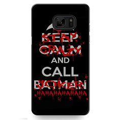 Stay Crazy & Call Joker TATUM-10122 Samsung Phonecase Cover For Samsung Galaxy Note 7